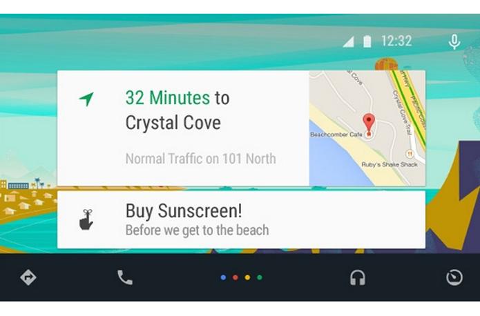 Sistema operacional vai permitir que carros se comuniquem com dispositivos Android (foto: Reprodução/Google)