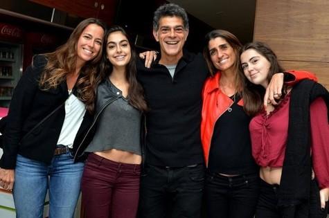 Eduardo Moscovis em família (Foto: Cristina Granato)
