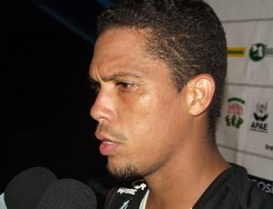 Charles Vagner volante no Treze (Foto: Silas Batista / Globoesporte.com/pb)