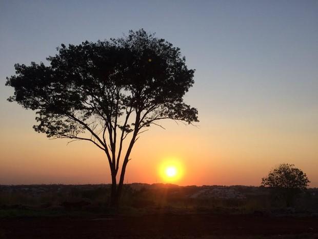 Sol se despede, pela última vez, no inverno em 2015 (Foto: J.A. Tofanetto/RPC)