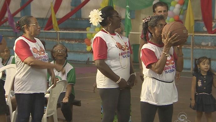 Projeto Social que levou esporte para terceira idade chega ao fim em 2014 (Foto: Reprodução/TV Amapá)