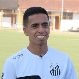 Giovane, Santos sub-20 (Foto: Antonio Marcos)