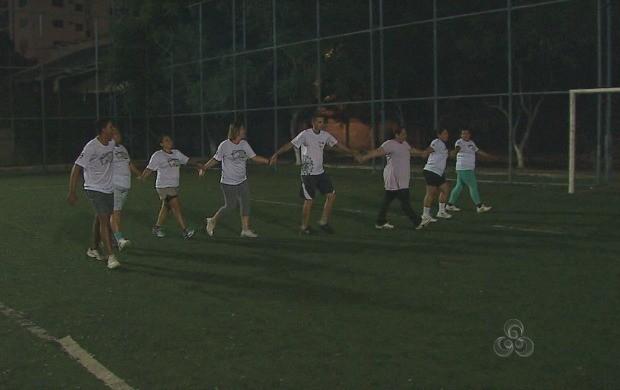 Participantes do 'Acre TV em Forma' já estão em clima de despedida (Foto: Reprodução TV Acre)