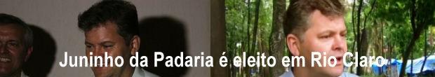 Juninho da Padaria foi eleito prefeito de Rio Claro (Foto: Reprodução/ EPTV)
