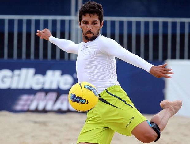 Jorginho Mundialito de Clubes futebol de areia (Foto: Gaspar Nóbrega/Inovafoto)