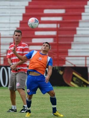 náutico maranhão treino vágner mancini (Foto: Aldo Carneiro / Pernambuco Press)
