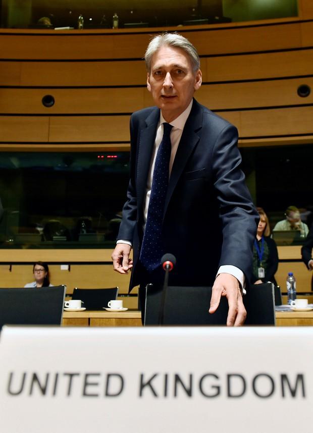 'Se eles decidirem sair, não haverá retorno', disse Philip Hammond (Foto: Eric Vidal/Reuters)