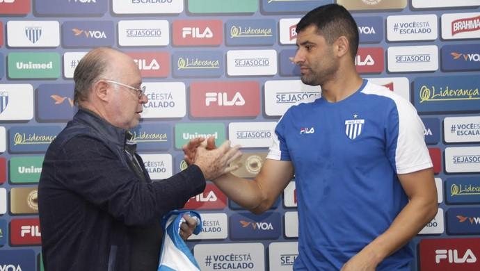 William Avaí (Foto: Jamira Furlani/Avaí FC)