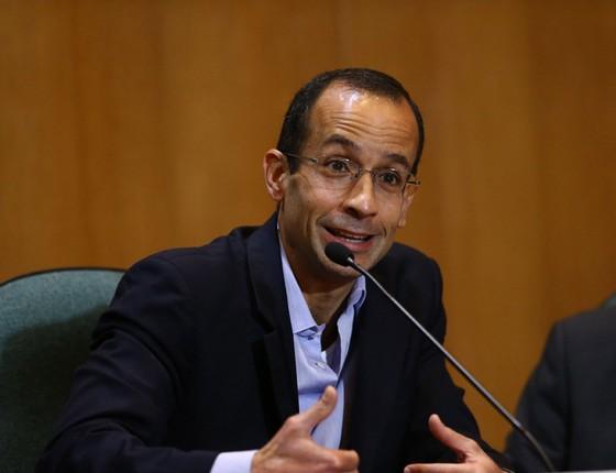 Marcelo Odebrecht é ouvido por deputados na CPI da Petrobras em Curitiba (Foto: Geraldo Bubniak / Freelancer / Ag. O Globo)
