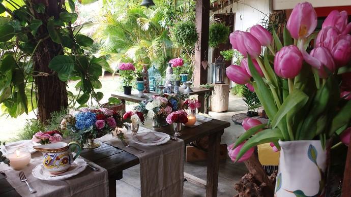 Mesa bem decorada pode deixar o dia das mães ainda mais especial (Foto: Lívia Andrade/RBS TV)