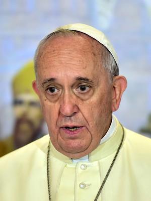 Papa Francisco pode estar em perigo. Ele é considerado um inimigo pelos jihadistas do Estado Islâmico (Foto: AP Photo/Jung Yeon-je, Pool)