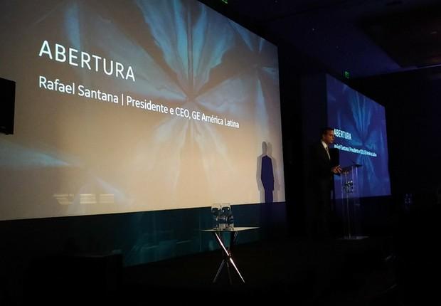 Rafael Santana Fórum GE de Inovação (Foto: GE)