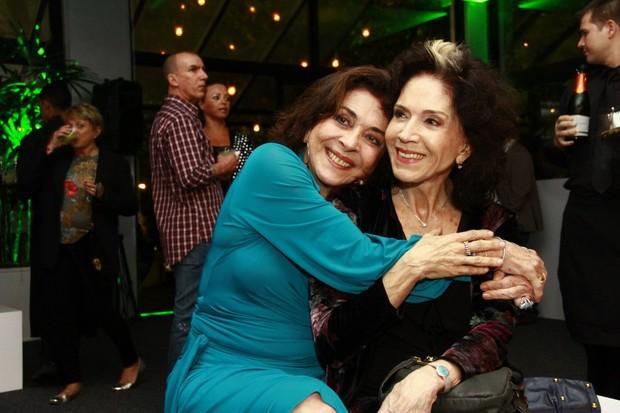 Betty Faria e Yoná Magalhães (Foto: Isac Luz / EGO)