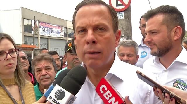 João Doria faz campanha em Ferraz de Vasconcelos e Itaquaquecetuba neste sábado (15)