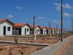 450 unidades habitacionais do Pérola 3 e 4 foram entregues (Foto: Vanessa Lima/G1 RR)