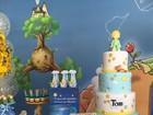 Veja os detalhes da festa de 1 ano de Tom, filho de Regiane Alves