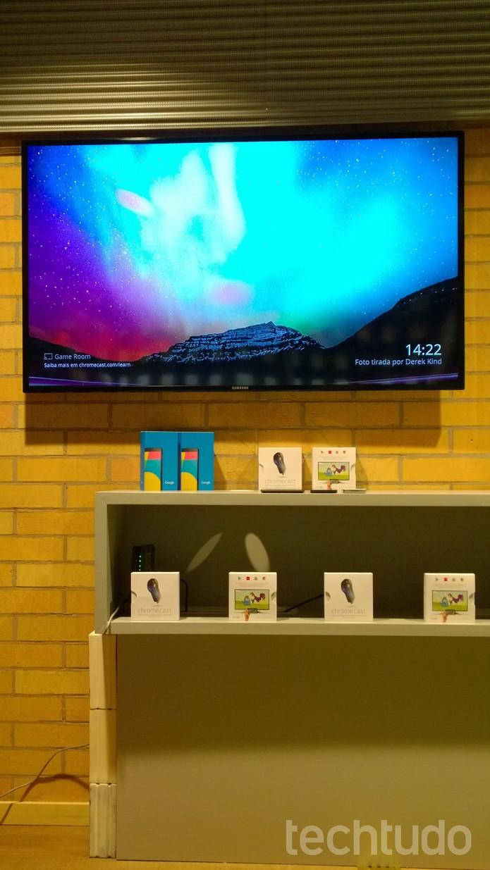 O Chromecast suporta dispositivos de sistemas operacionais distintos (Foto: TechTudo/Fabricio Vitorino)