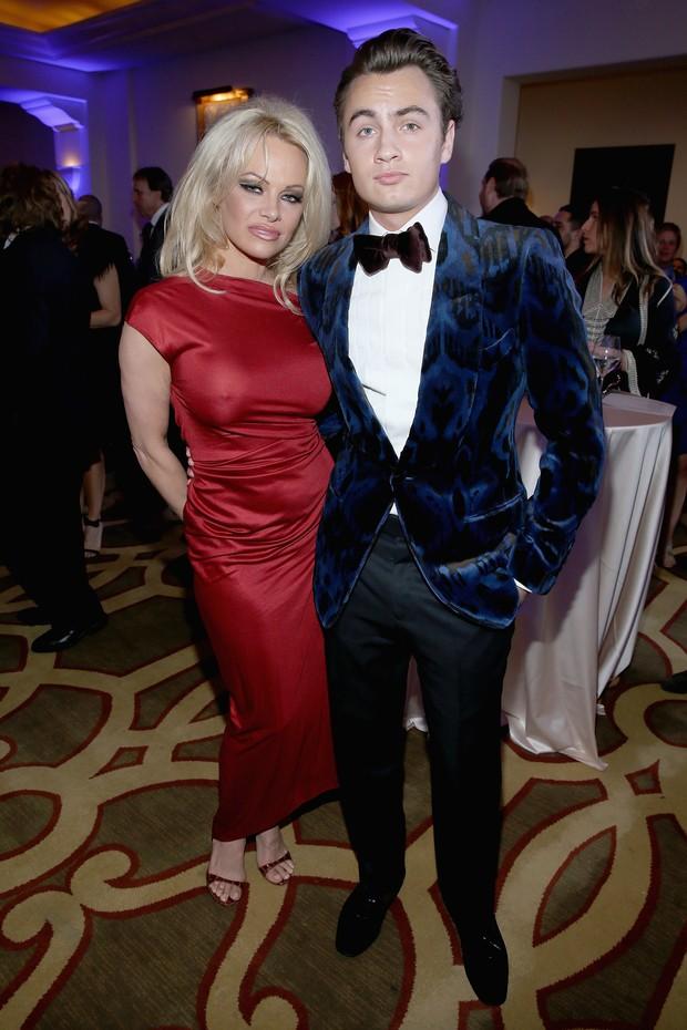 Pamela Anderson e Brandon Lee (Foto: GETTY IMAGES NORTH AMERICA / AFP)