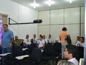 Auditório da Fundação Rede Amazônica (Foto: Thiago Cabral)