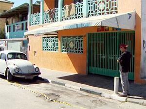 Bar onde quatro homens foram assassinados em chacina no Jardim Capivari, em Campinas (Foto: Reprodução EPTV)