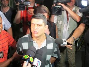 Sandro Dota é suspeito de matar cunhada (Foto: Paulo Piza / G1)