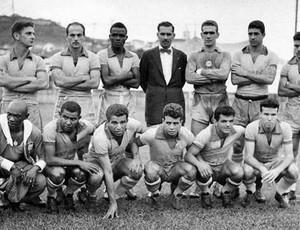 Dida na seleção, em 1958 (Foto: Arquivo Museu dos Esportes)