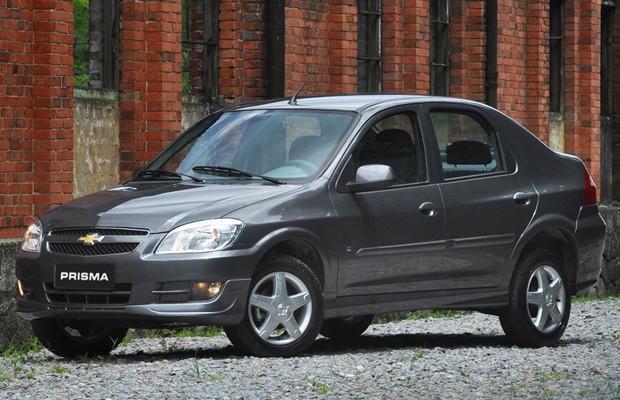 Antigo Chevrolet Prisma (Foto: Divulgação)