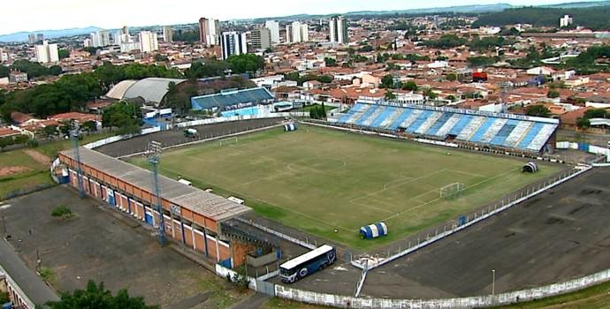 Estádio Augusto Schimidt Filho, o Schimidtão (Foto: Marlon Tavoni/ EPTV)