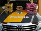 Trio é preso com droga dentro de ônibus em Presidente Bernardes