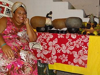 Carmem Virgínia, chef no Recife (Foto: Renan Holanda / G1)