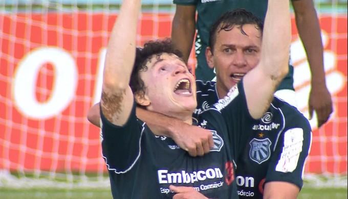 Cristiano; Caldense (Foto: Reprodução/TV Globo)