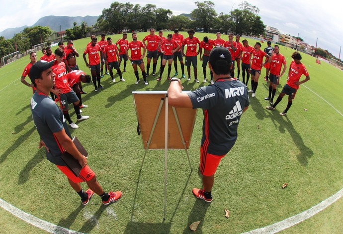 treino flamengo zé ricardo (Foto: Gilvan de Souza)