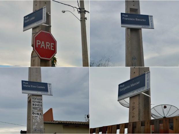 Mesmo em ruas cadastradas, moradores relatam que ao informar o CEP o número é dado como inválido (Foto: Quésia Melo/G1)