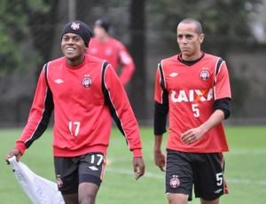 marcelo atlético-pr atacante (Foto: Divulgação/Site oficial do Atlético-pr)