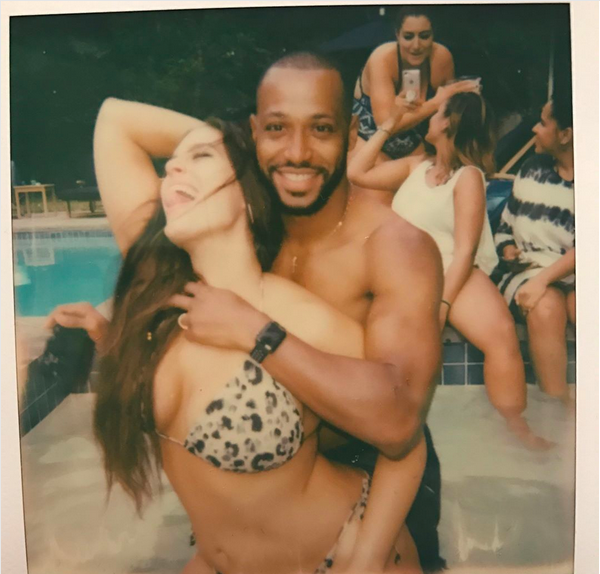 A modelo Ashley Graham com o marido (Foto: Instagram)