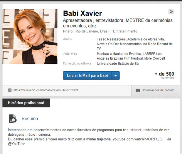 Babi Xavier (Foto: Linked / Reprodução )