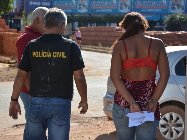Polícia cumpriu 13 mandados de prisão, em Pedro Afonso e Bom Jesus do Tocantins (Foto: Divulgação/Polícia )