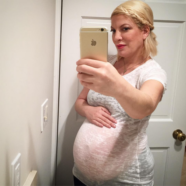 A atriz Tori Spelling (Foto: Instagram)