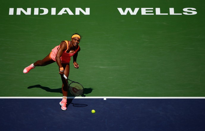 Serena Williams vence Sloane Stephens Indian Wells (Foto: Getty Images)