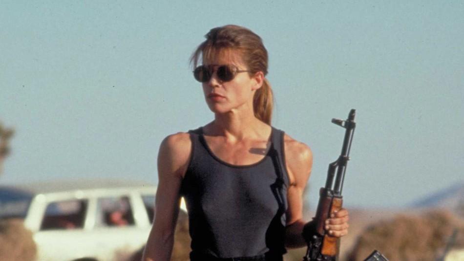 Sarah Connor em 'O Exterminador do Futuro' (Foto: Reprodução)