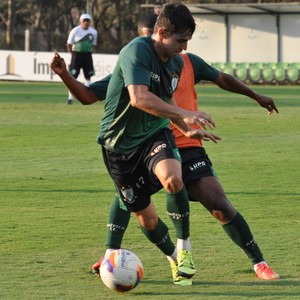 Xavier, do América-MG (Foto: Carlos Cruz/AFC)