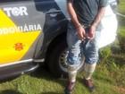 Homem é preso dentro de ônibus com haxixe amarrado nas pernas