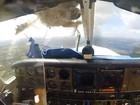 Piloto leva susto nos EUA após ave bater em avião e 'destruir' cabine