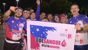 Grupo de doadores de sangue se prepara  para a Corrida Henrique Archer Pinto