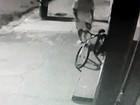 Câmeras flagram furto de bicicleta e Polícia Civil localiza suspeito