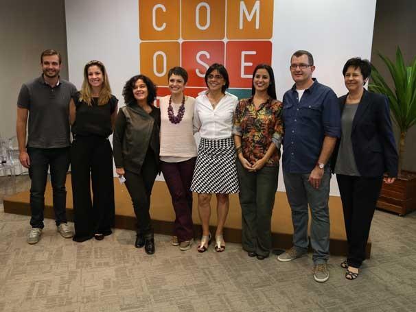 Coletiva de lançamento do programa 'Como Será?', que irá substituir o 'Globo Cidadania' (Foto: Divulgação/Teresa Tavares)