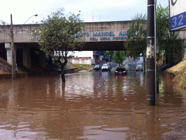 Chuva Uberlândia maio (Foto: Fernanda Resende)