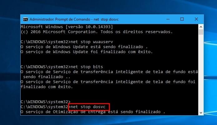 Termine de pausar o Windows Update (Foto: Reprodução/Paulo Alves)