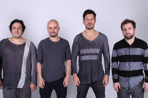Luis Lobianco, Gustavo Miranda, João Vicente de Castro e Gregorio Duvivier (Foto: Divulgação)