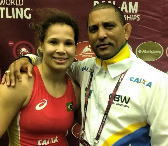 Laís Nunes ouro pan-americano de luta olímpica (Foto: Divulgação/CBW)